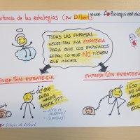 La importancia de las estrategias (by Dilbert).